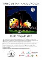 APLEC DE SANT ANIOL 2016 - cartell