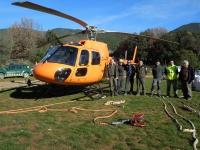 1 -helicòpter col·laboració Agents Rurals