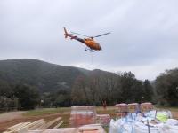 2 -helicòpter a Sadernes